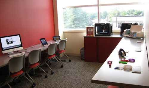Creation Station at Syosset Public Library
